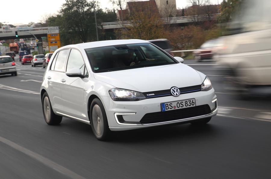 87mph Volkswagen e-Golf