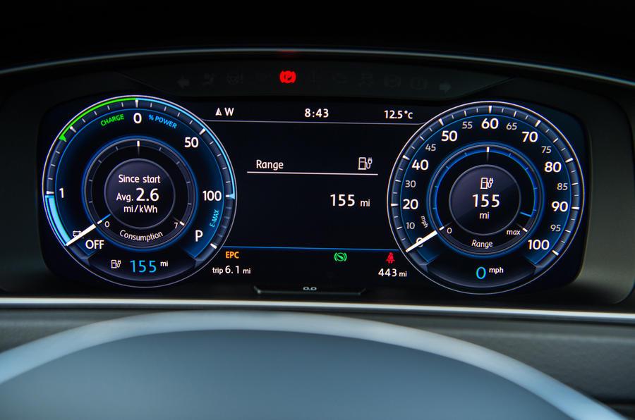 Volkswagen e-Golf Active Info Display