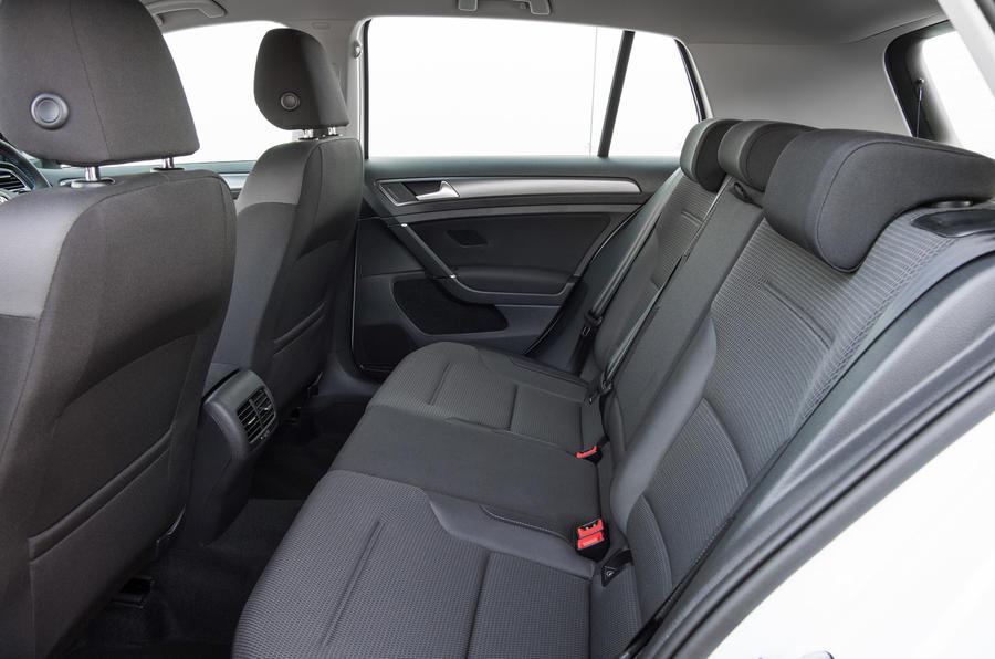 Volkswagen e-Golf rear seats