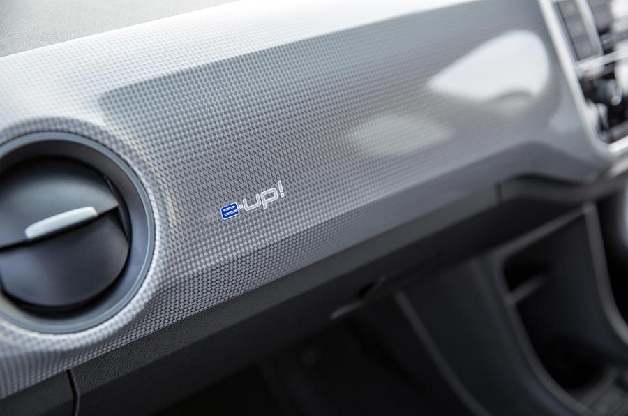 Volkswagen e-Up air vents