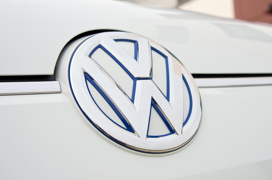 Volkswagen e-Up front badging