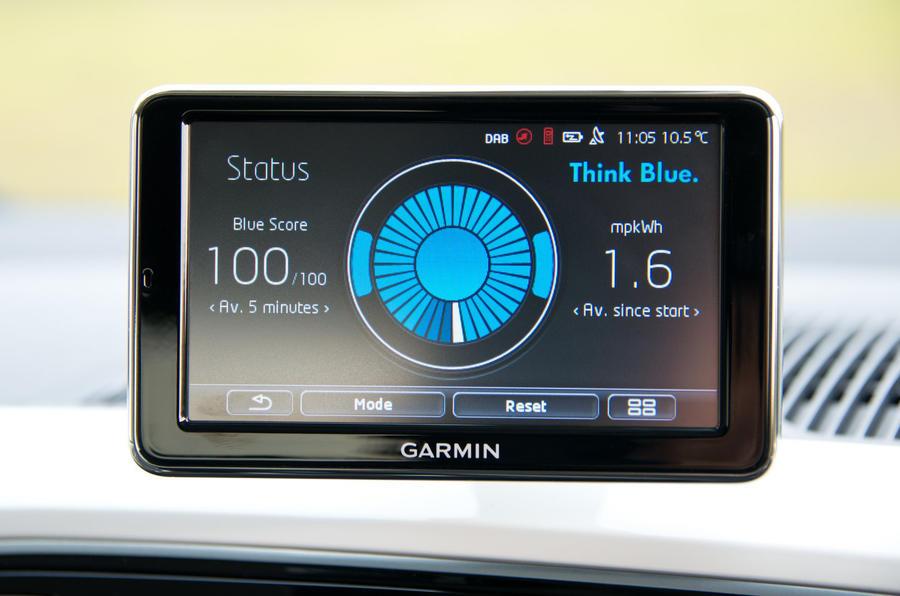 Volkswagen e-Up infotainment