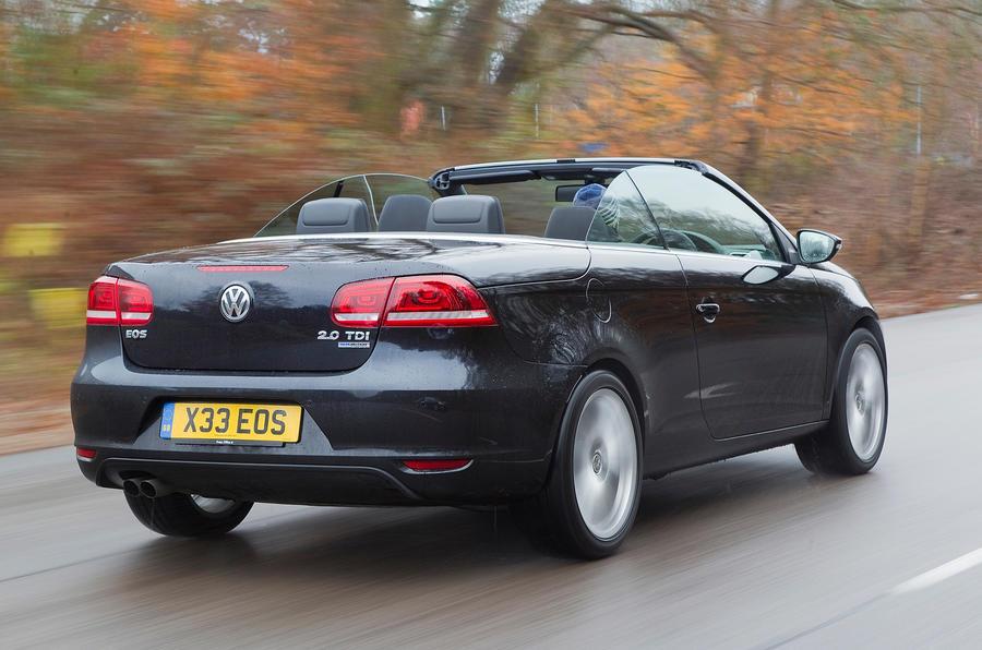 Volkswagen Eos rear quarter