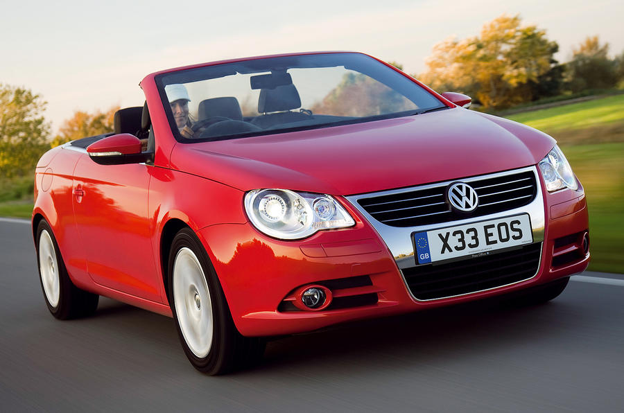 Petrol VW Eos gets eco-tweaks