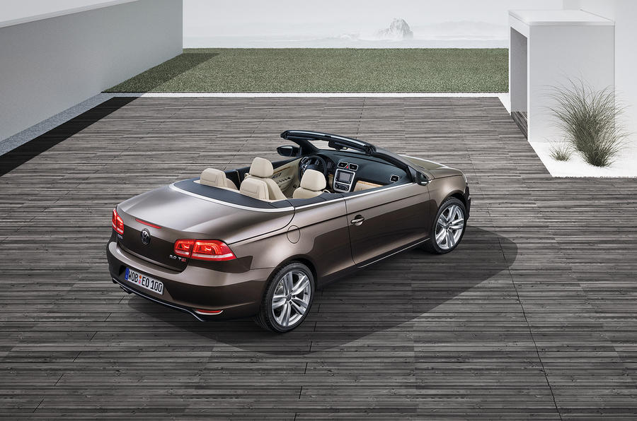 New VW Eos from £22,895