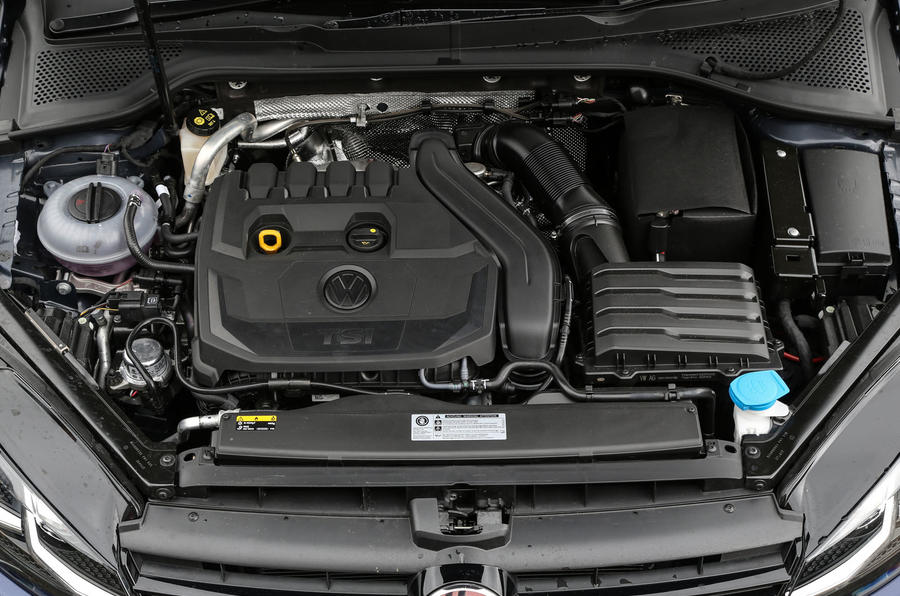 1.5-litre Volkswagen Golf TSI EVO engine