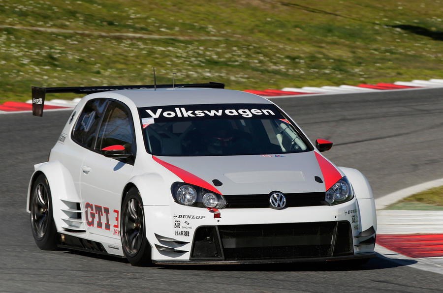 vw 39 s new 434bhp golf racer autocar. Black Bedroom Furniture Sets. Home Design Ideas