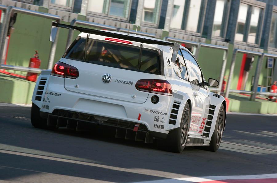 VW's new 434bhp Golf racer