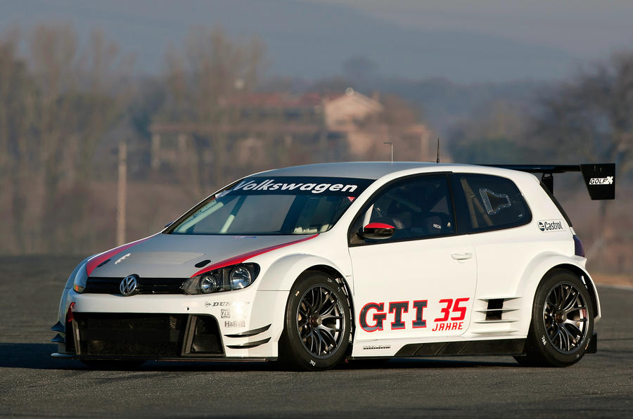 VW's new 434bhp Golf racer