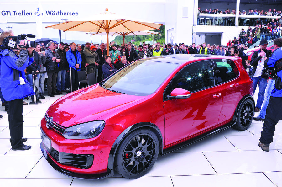 VW Golf GTI Excessive revealed