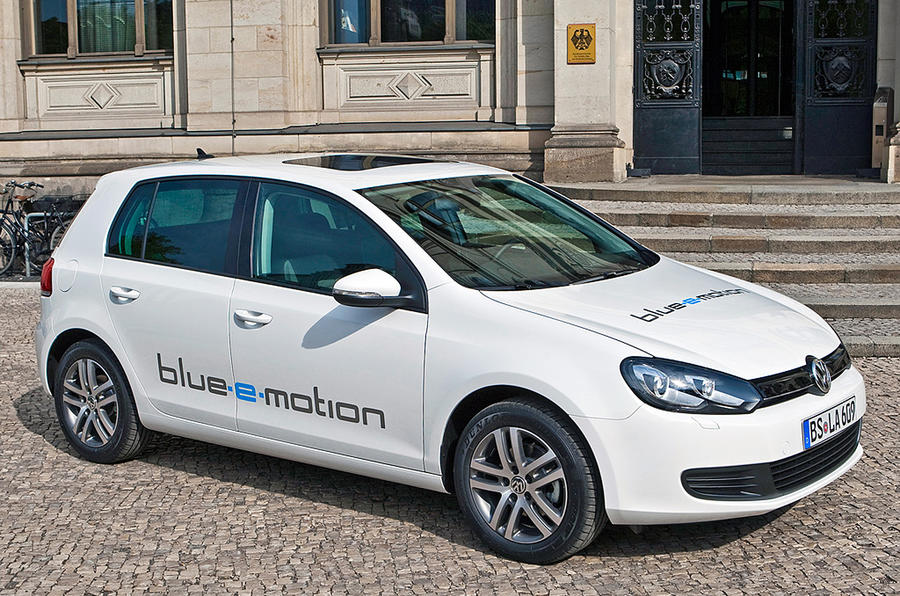 Electric VW Golf: new pics