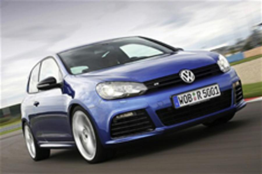 Frankfurt motor show: Volkswagen Golf R