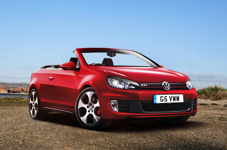 Golf GTI cabriolet pricing revealed