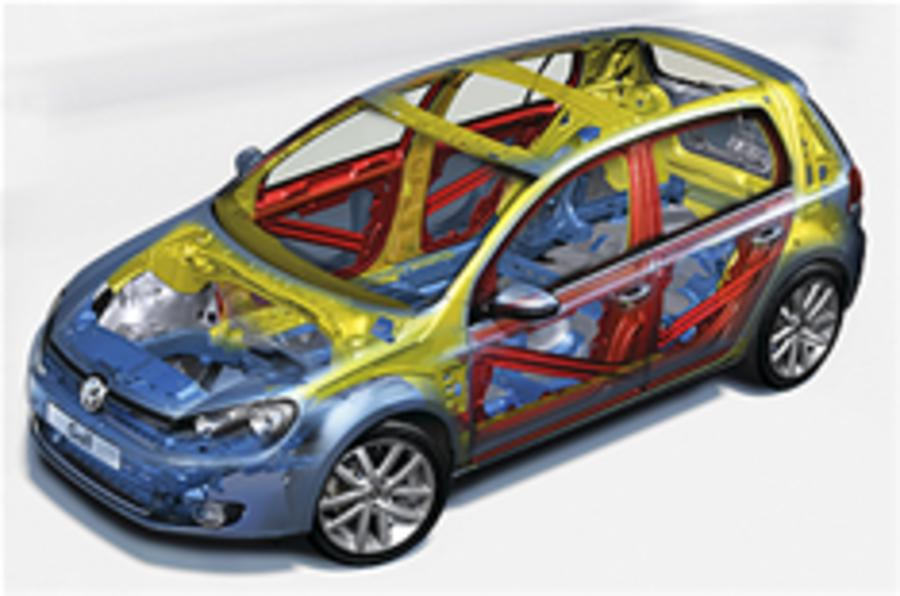 VW Golf stars in safety tests