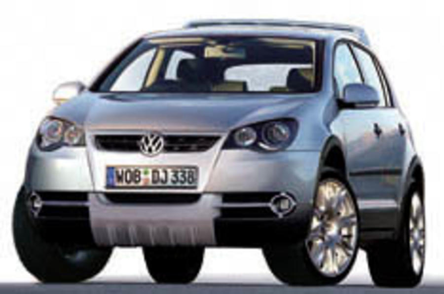 Golf 4x4 is VW's Freelander