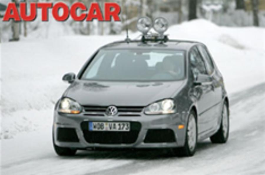 New VW super-Golf caught testing