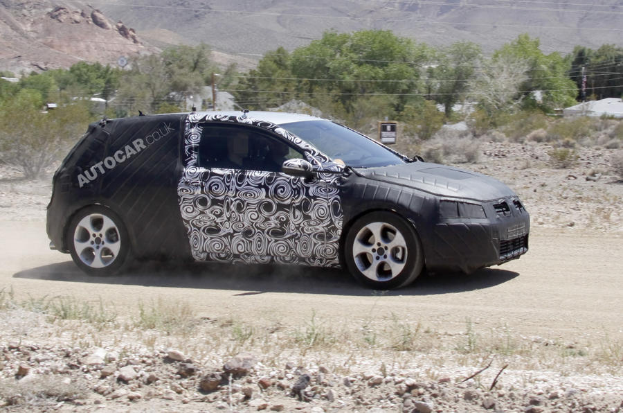 New Golf - first spy pics