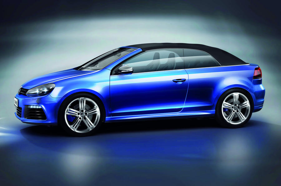 VW reveals Golf R Cabriolet