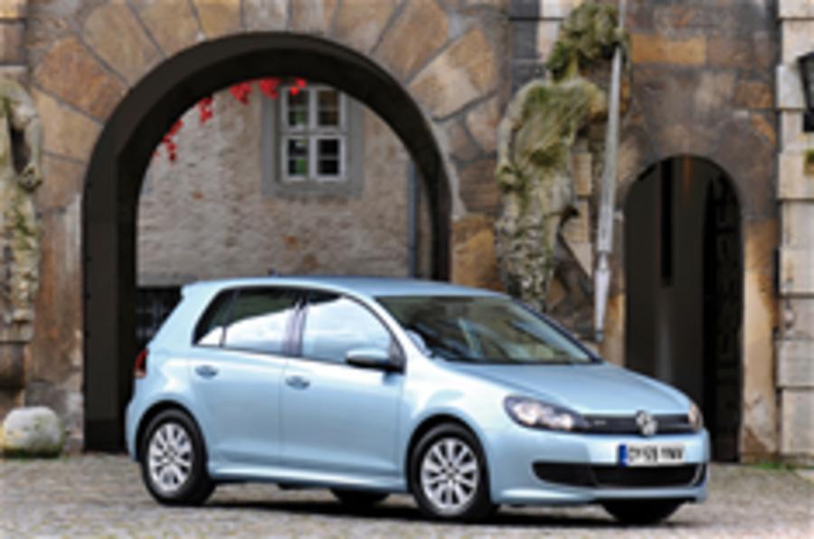 VW Golf Bluemotion adds £785