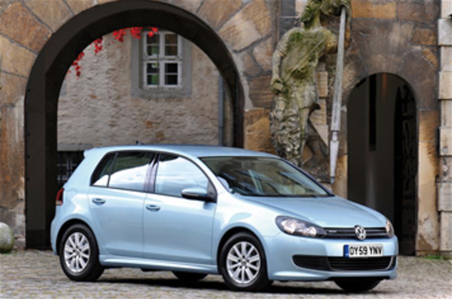 VW aims at 100mpg Golf