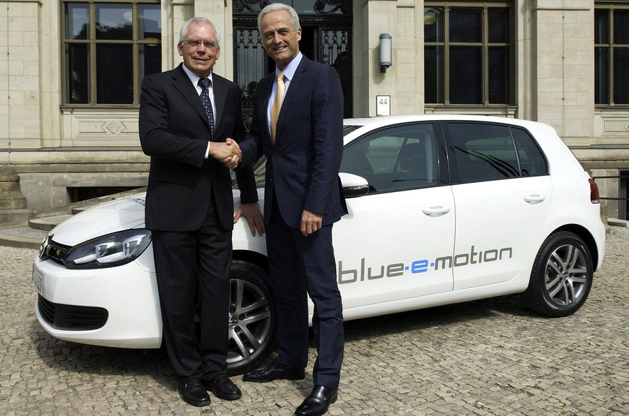 VW confirms electric Golf
