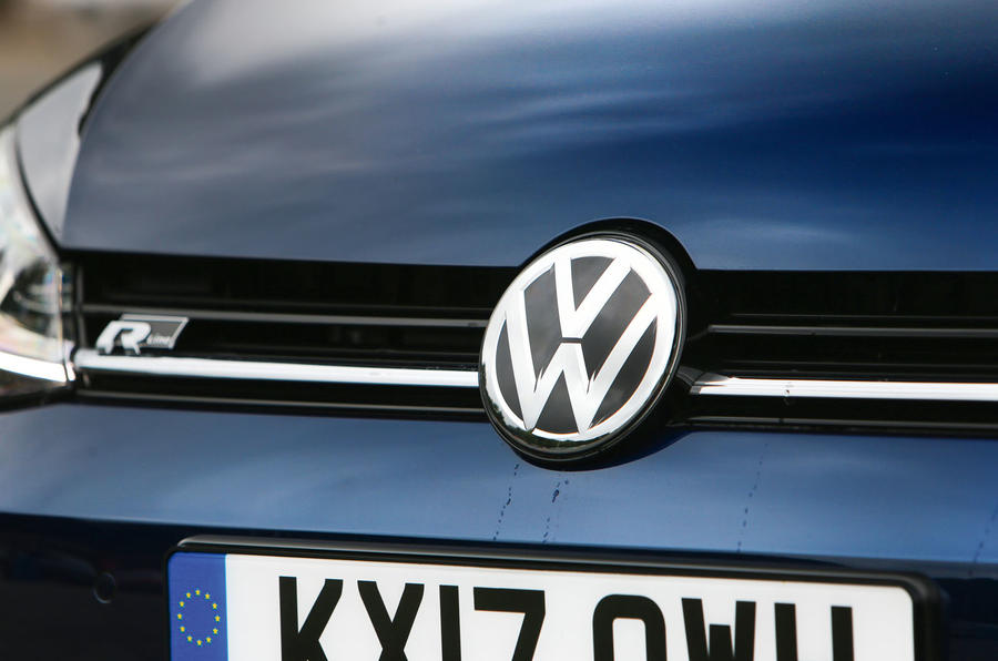 Volkswagen Golf bonnet badging