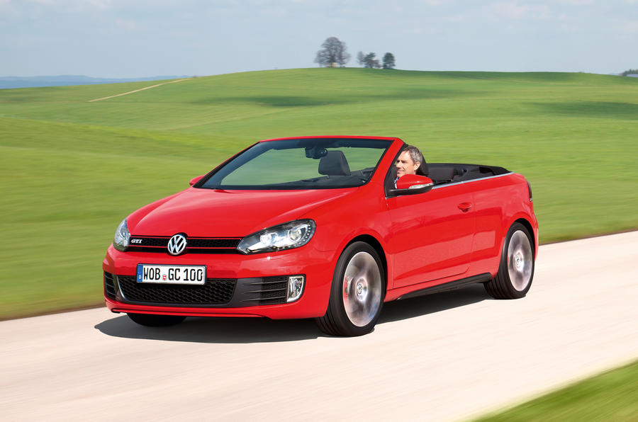 volkswagen golf gti cabriolet review autocar. Black Bedroom Furniture Sets. Home Design Ideas