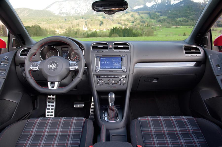 Volkswagen Golf GTI dashboard