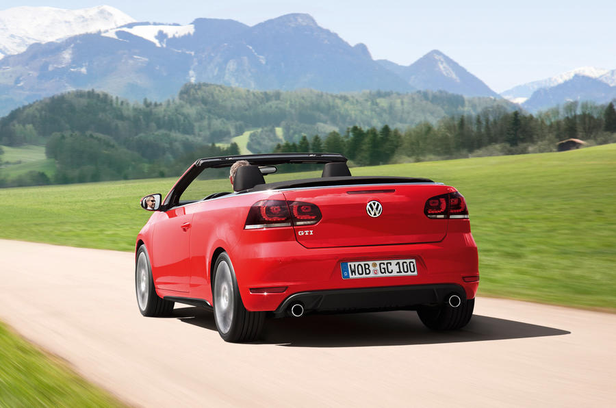 Volkswagen Golf GTI Cabriolet rear end