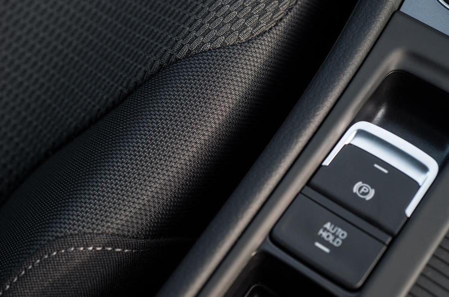 Volkswagen Golf electronic parking brake