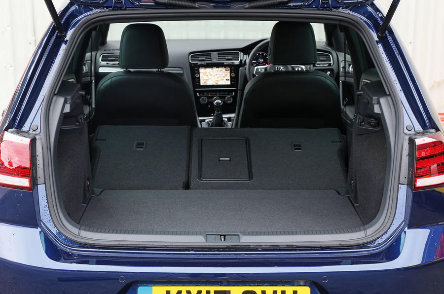 Volkswagen Golf extended boot space