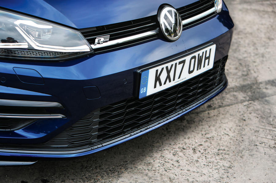 Volkswagen Golf front end