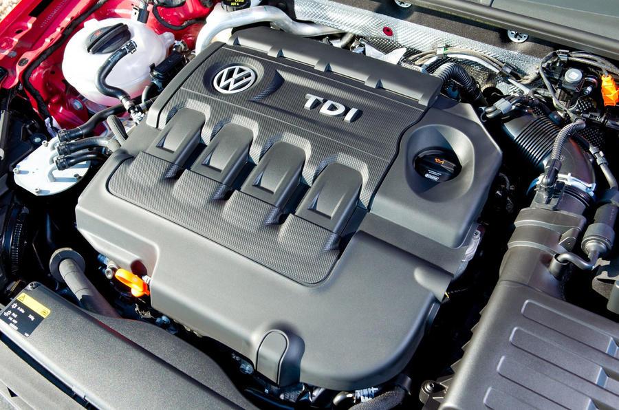 2.0-litre TDI Volkswagen Golf GTD engine