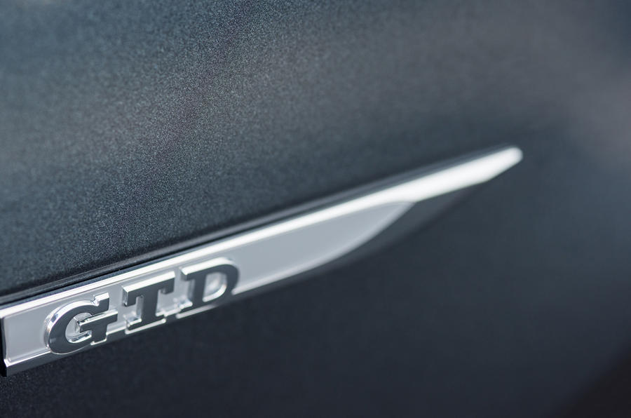 Volkswagen Golf GTD badging