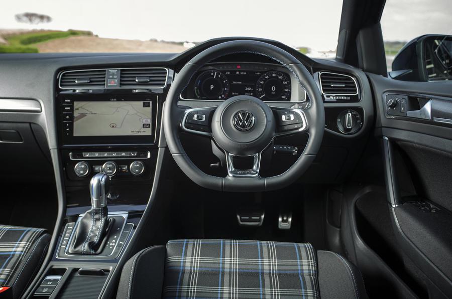 volkswagen golf gte interior autocar