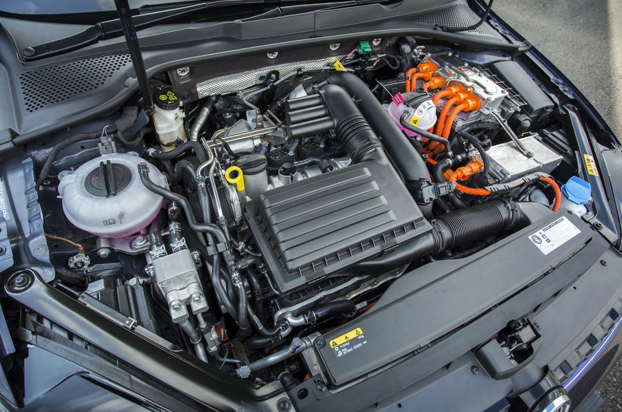 1.4-litre TSI Volkswagen Golf GTE engine