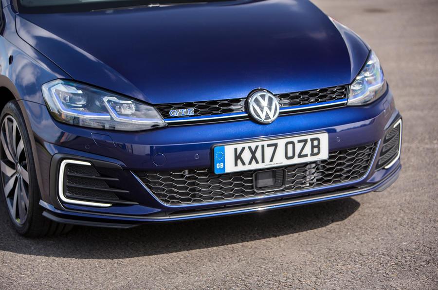 Volkswagen Golf GTE front end