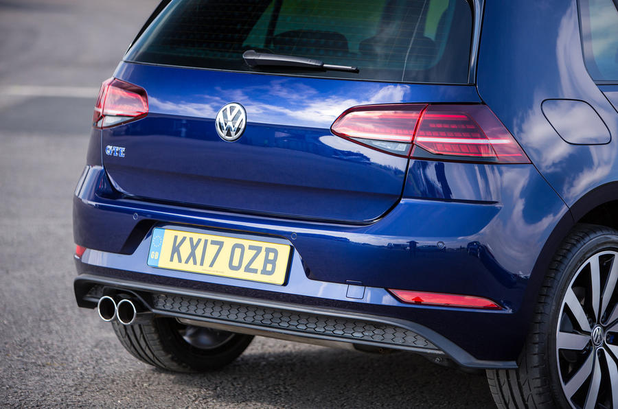 Volkswagen Golf GTE rear end