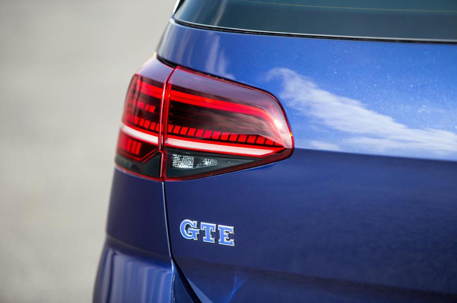 Volkswagen Golf GTE rear LED lights