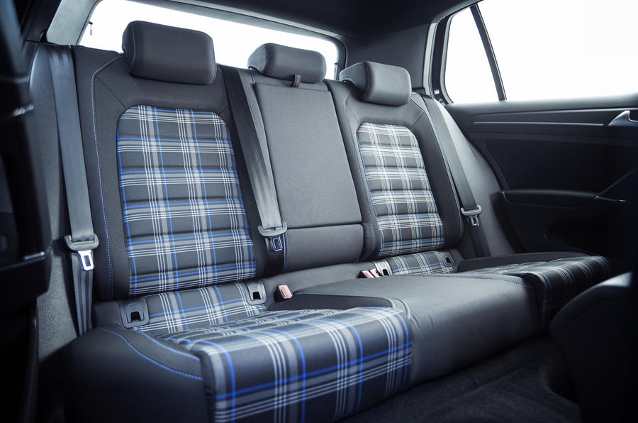 Volkswagen Golf GTE rear seats