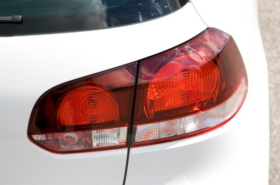 Volkswagen Golf GTI rear lights