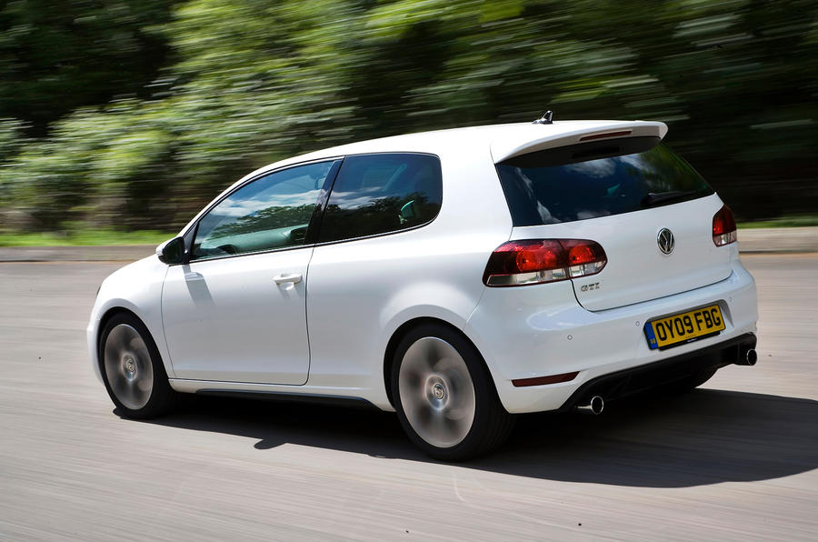 Volkswagen Golf GTI rear