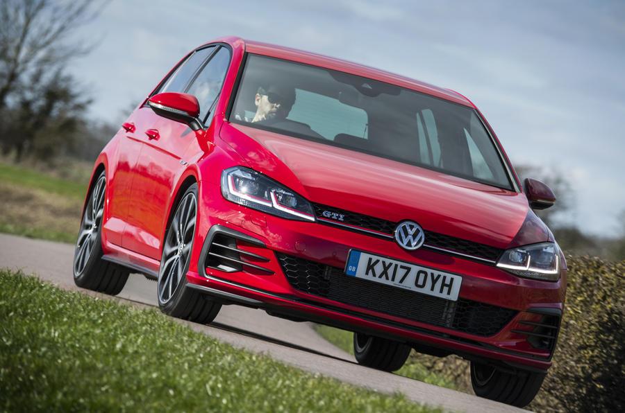 Volkswagen Golf GTI cornering