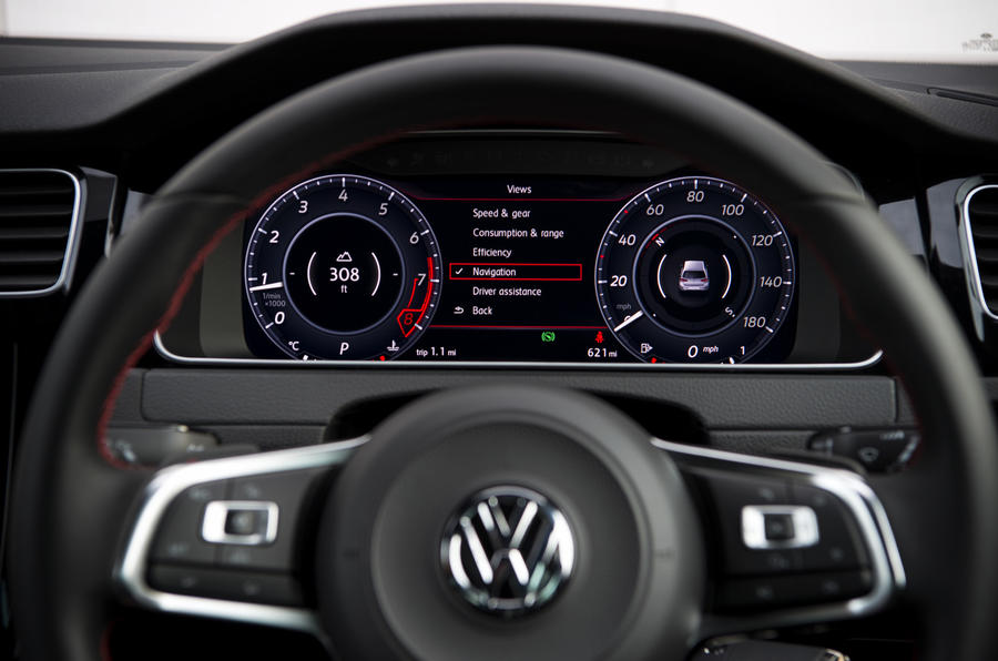 Volkswagen Golf GTI Active Info Display