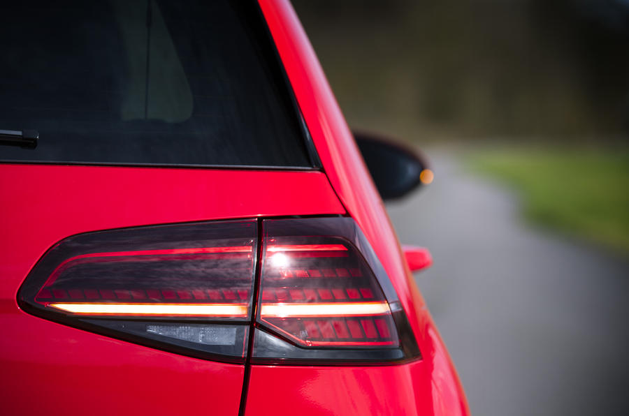 Volkswagen Golf GTI rear LED lights