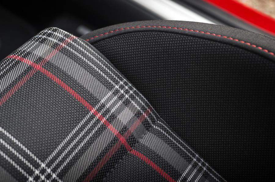 Volkswagen Golf GTI tartan seat trim