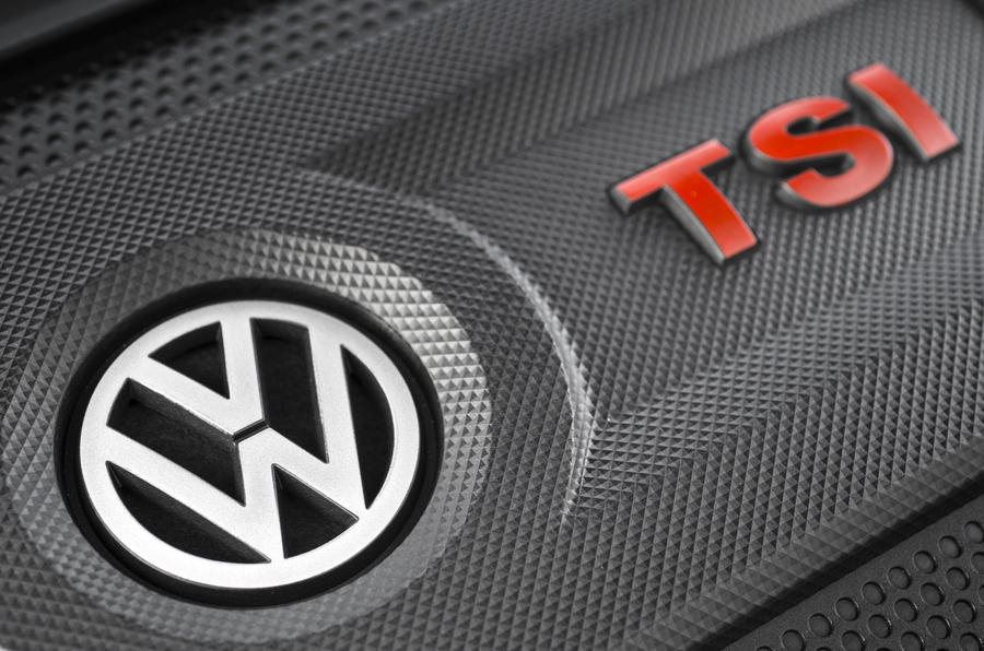 Volkswagen Golf GTI TSI engine cover