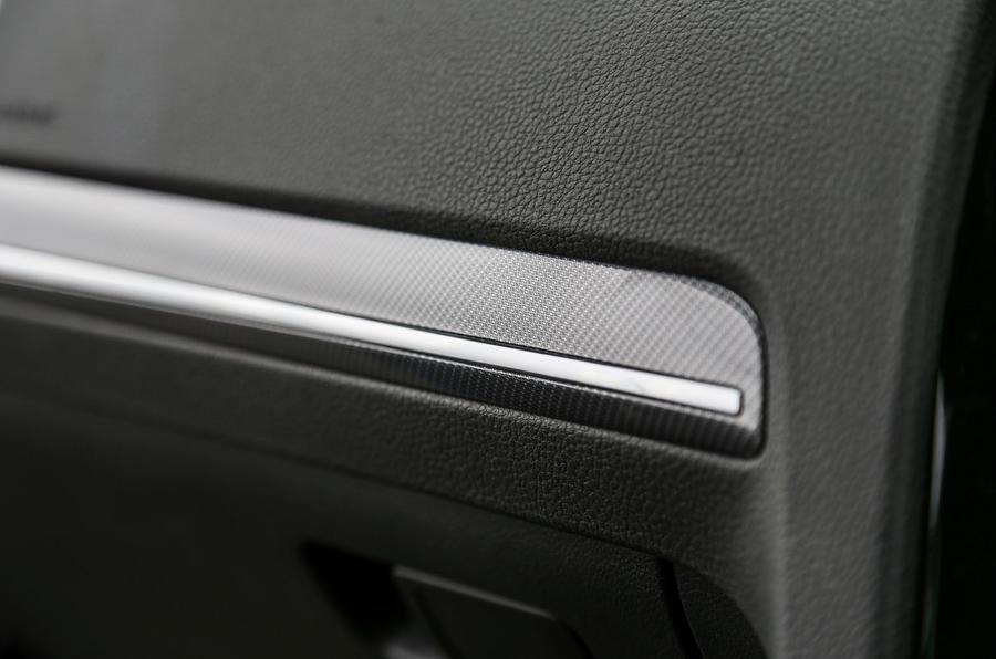 Volkswagen Golf interior trim