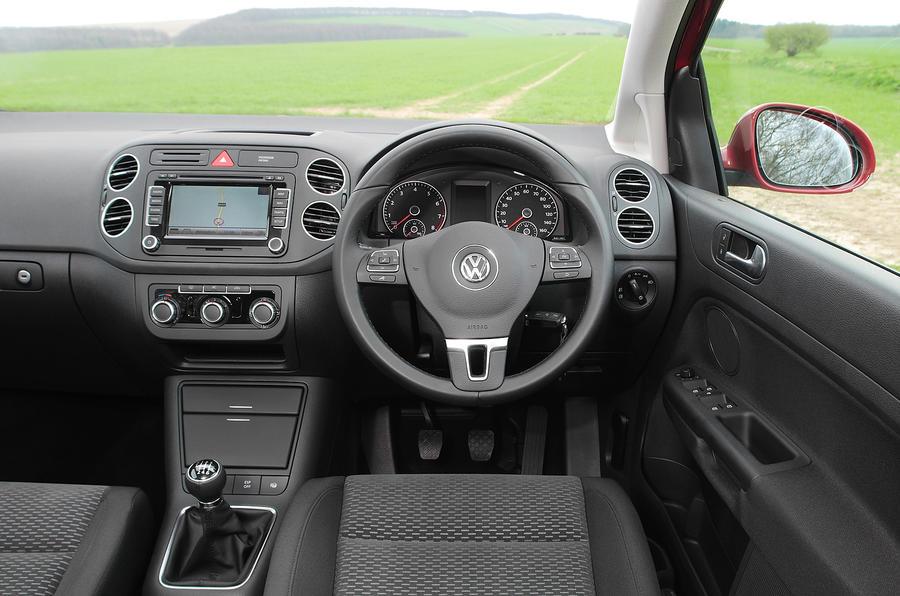 Volkswagen Golf Plus dashboard