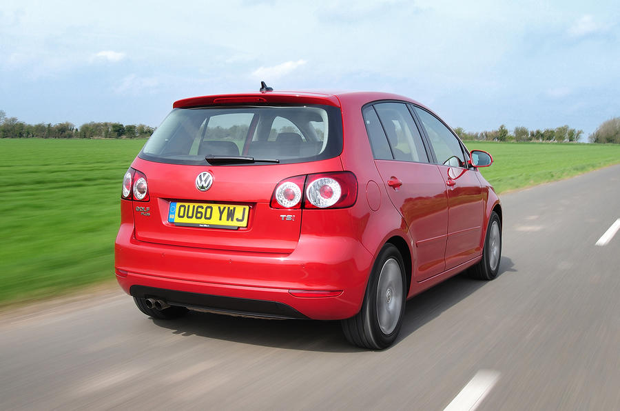 Volkswagen Golf Plus rear quarter